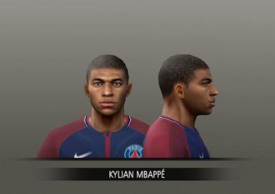 PES 6 Faces Kylian Mbappé by Alegor