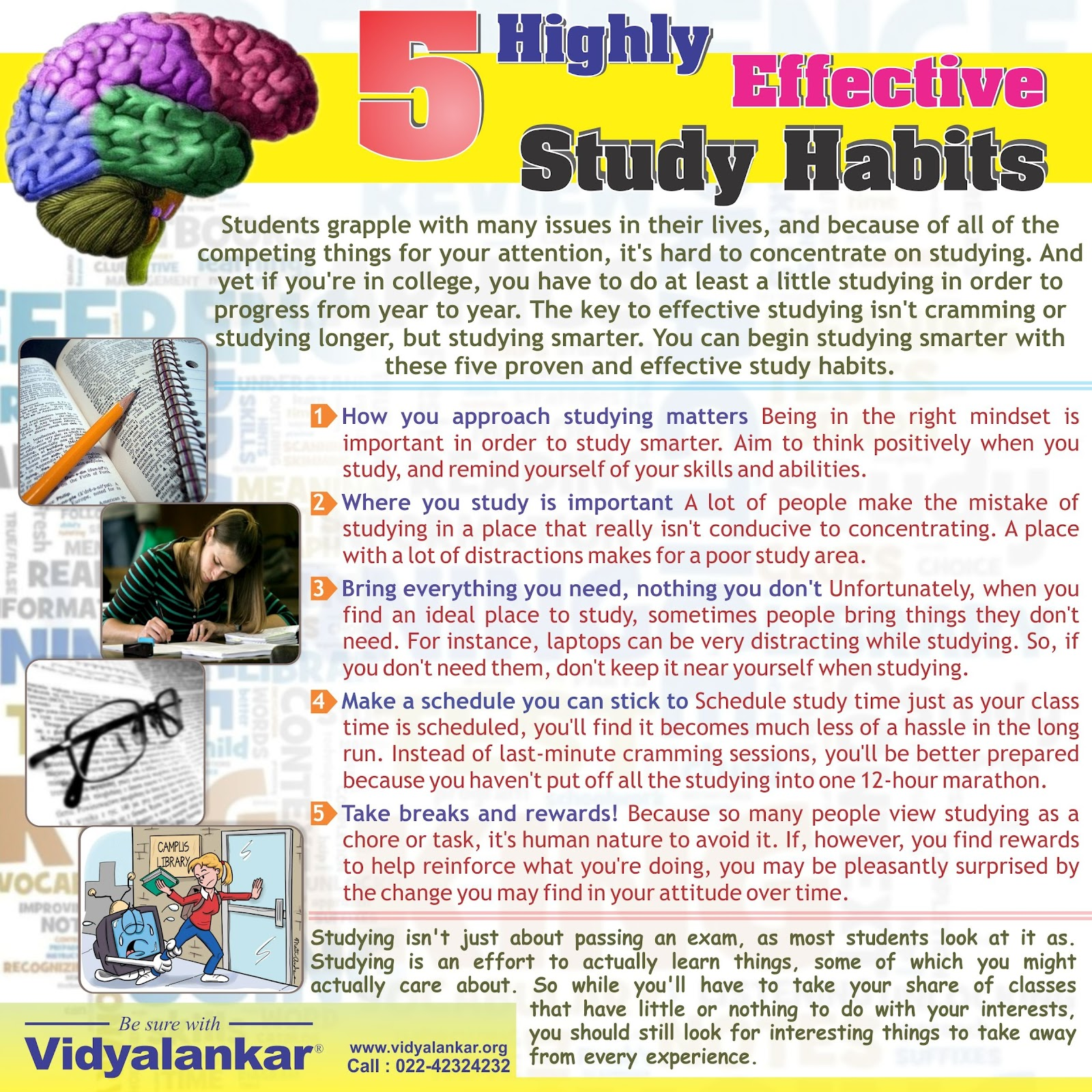 Essay on study habits