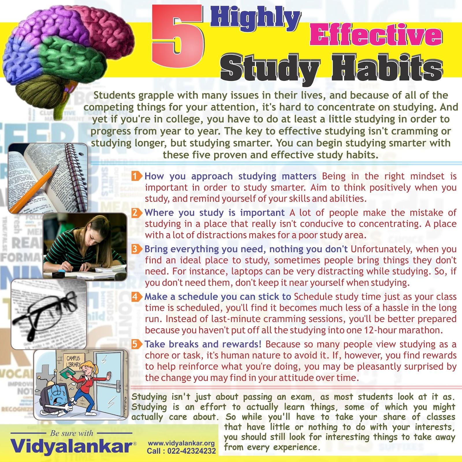 Essay on good habits