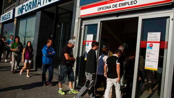 España: 14 mil 435 nuevos desempleados en el mes de agosto