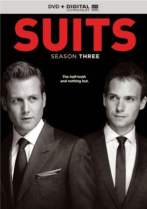 Suits: Season 3  Starring:     Gabriel Macht and Patrick J. Adams
