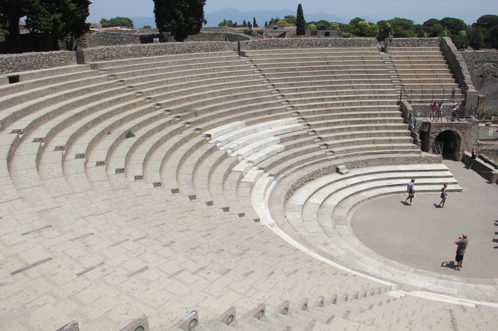 O Anfiteatro de Pompéia