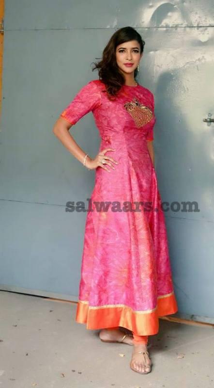 Lakshmi Prasanna Crushed Silk Salwar