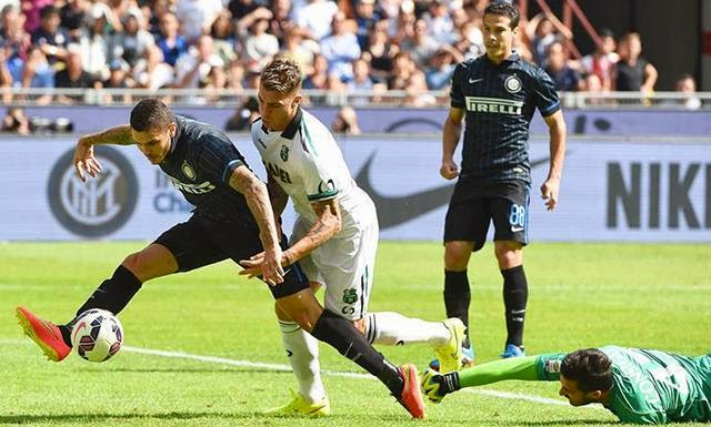 InterMilan vs Sassuolo: Goals , Highlights 14/09/2014