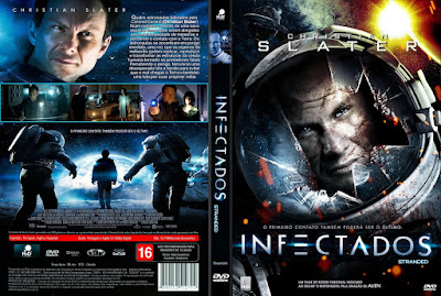 Filme Infectados DVD Capa