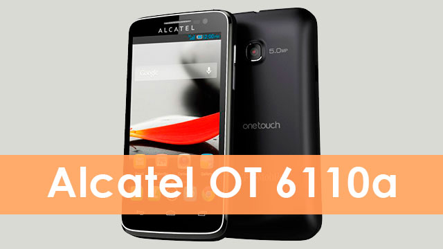 rom stock Alcatel OT 6110a