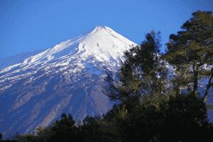 El Teide, en Tenerife (Canarias), la montaña más alta de España y ejemplo de estratovolcán