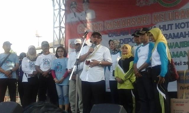 Tinggal Tiga Tahun Lagi Bisa Wujudkan Depok Bersih