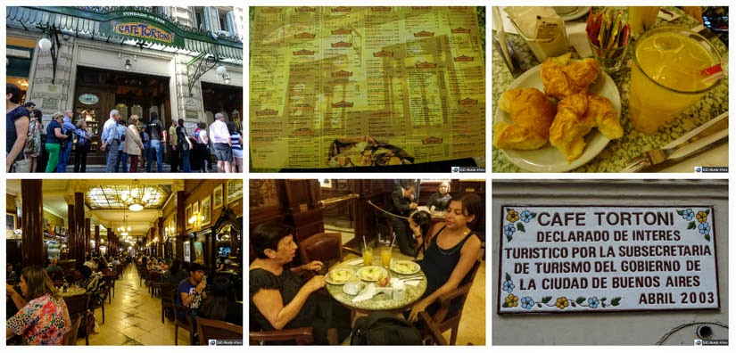 Café Tortoni Buenos Aires Argentina
