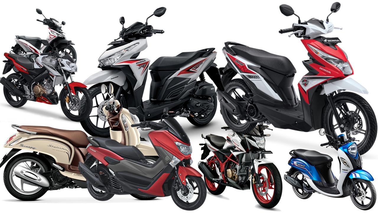 Berikut data Sepeda Motor Ekspor Terlaris