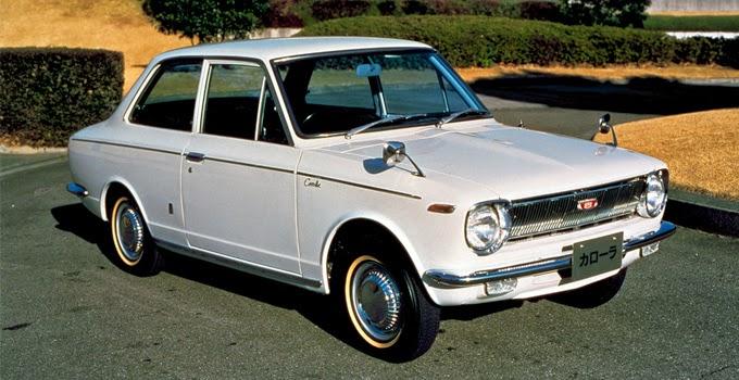 Xe Corolla Altis thế hệ đầu tiên. (Nguồn: Toyota-global)
