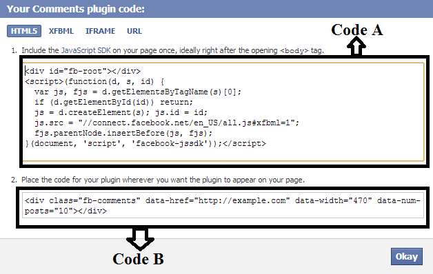 Vettyofficer 39 s weblog how to add facebook comments box to for Post template blogger code