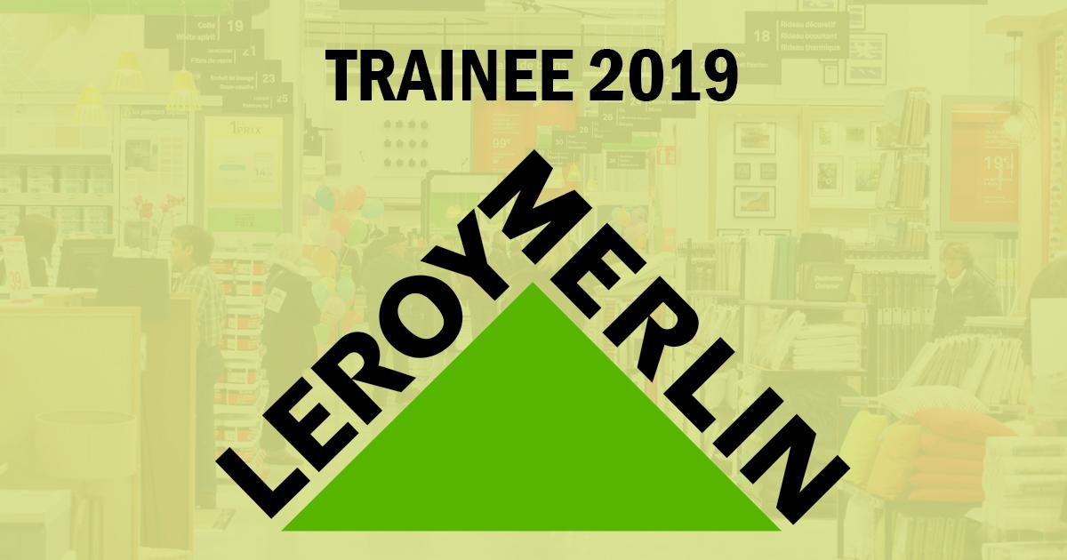 Leroy Merlin abre Programa de Trainee 2019
