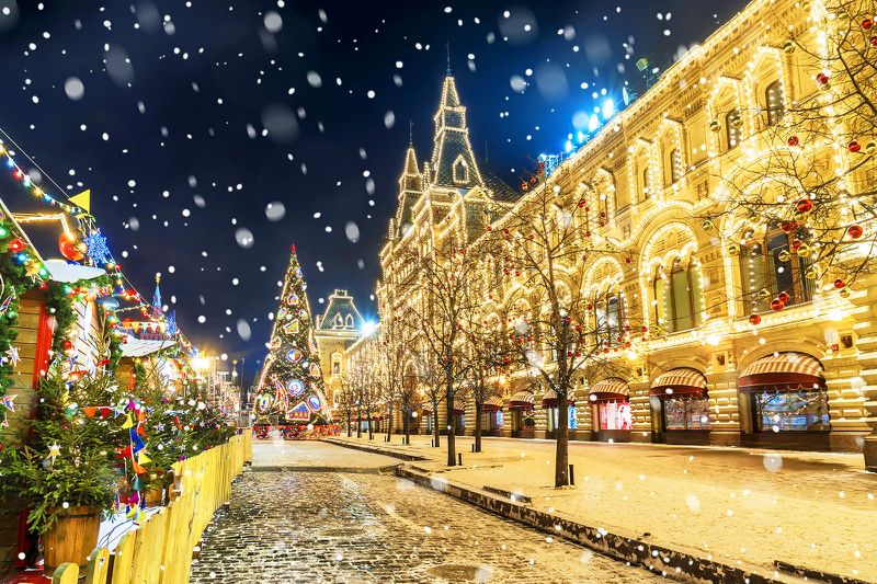7-Day St. Petersburg and Moscow Christmas Holiday Package