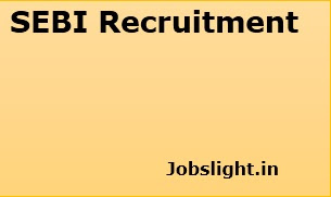 SEBI Recruitment 2017