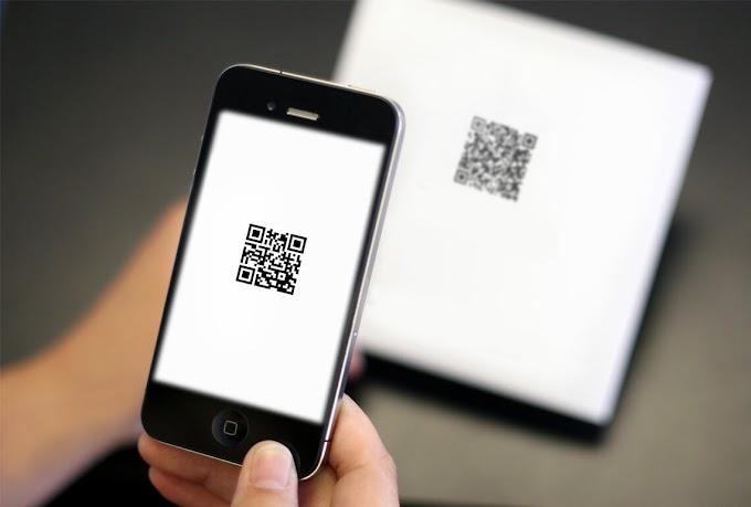 Aplikasi Pembaca QR code di Android