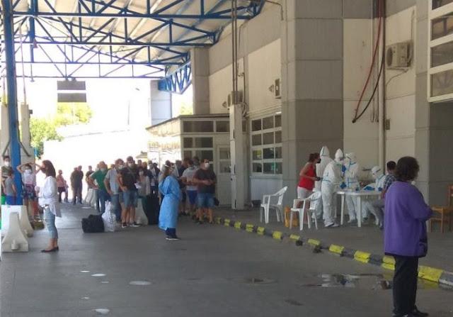 Γιάννενα: Αυξημένες ροές- πρόσθετα μέτρα στο Τελωνείο Κακαβιάς