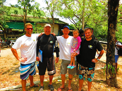 PADI IE on Phuket for March 2017 has been successfully completed