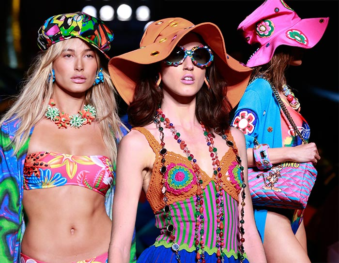 Moschino brings a funky and colourful Resort 2017 collection