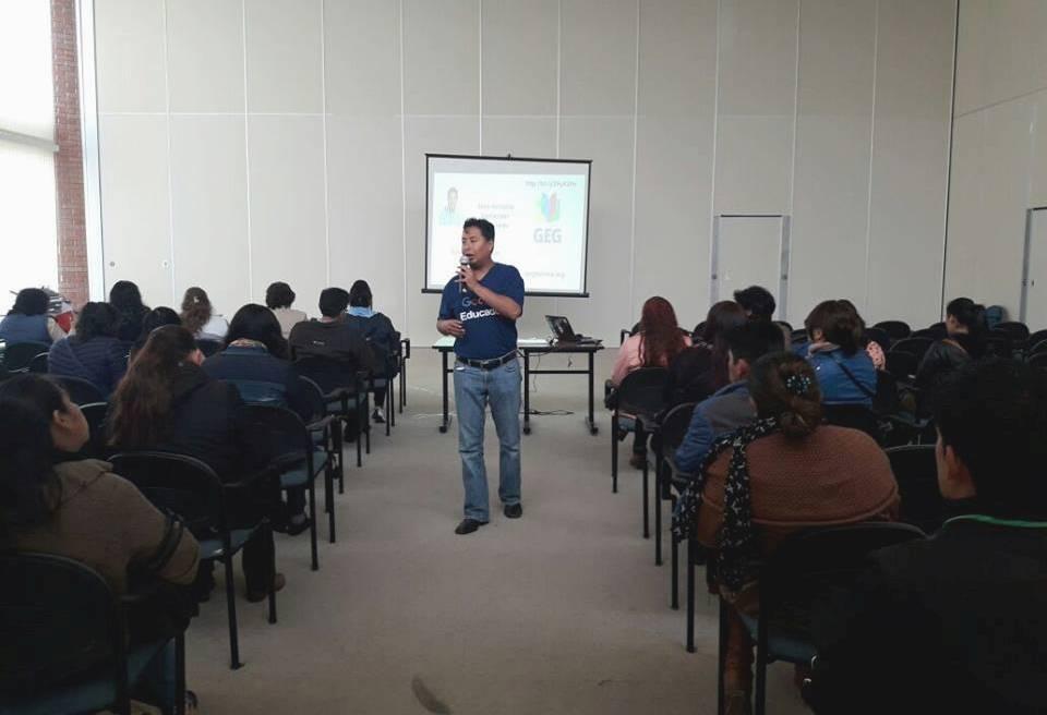 Santander es Líder de la Comunidad de Educadores Google Bolivia / FACEBOOK