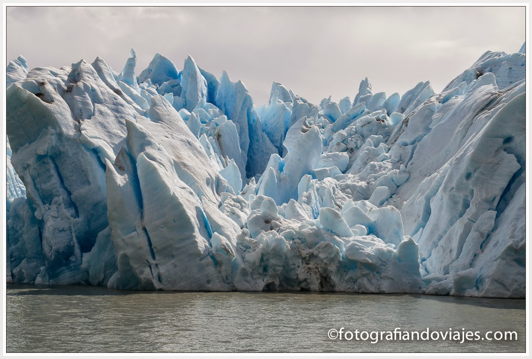 Glaciar Grey en Torres del Paine Chile