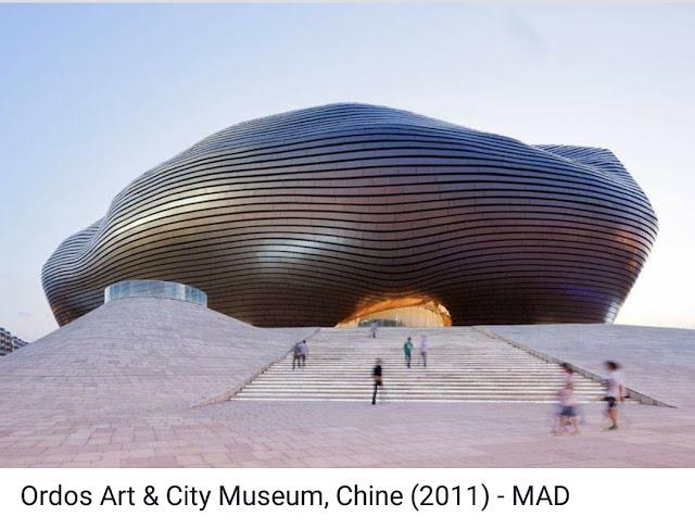 bảo tàng ordos art & city