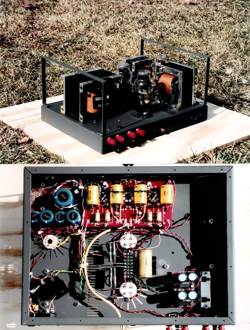 Mc Step Up Transformers Je Labs Arkiv To 2008 As Well Conrad Johnson Schematic On Electronic Crossover Not Too Many Kit 3s Pse300b Note The Huge Opt Were Brought In By Steve But I Remember Assembling At Least Two Pairs Delivered A Pair Of