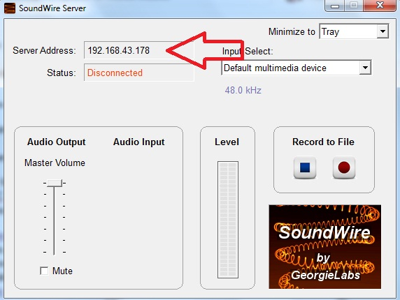 how to share laptop speakers to android mobile