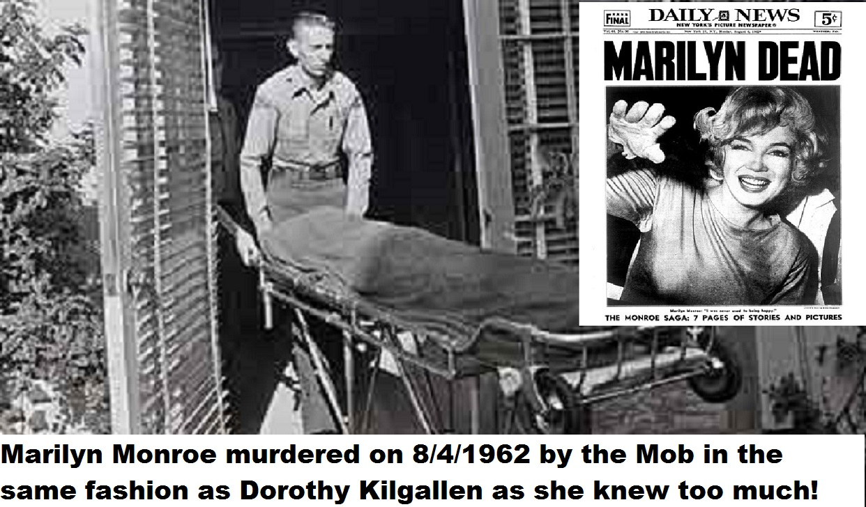 the mafia killed jfk The assassination of john f kennedy is one of the most popular sources for   the mafia was behind it, as payback for jfk sleeping with their.