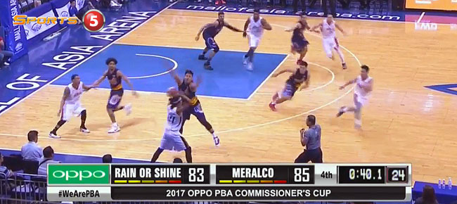 Meralco def. Rain or Shine, 89-83 (REPLAY VIDEO) March 29