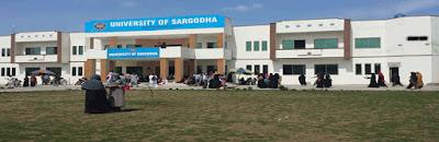 Sargodha University BA Result 2018