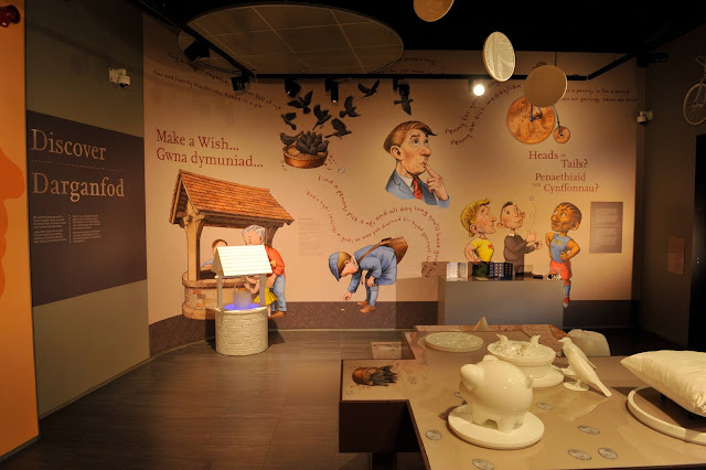 Royal Mint, The Royal Mint Experience, Llantrisant, days out, meaning of coins, wishing well,