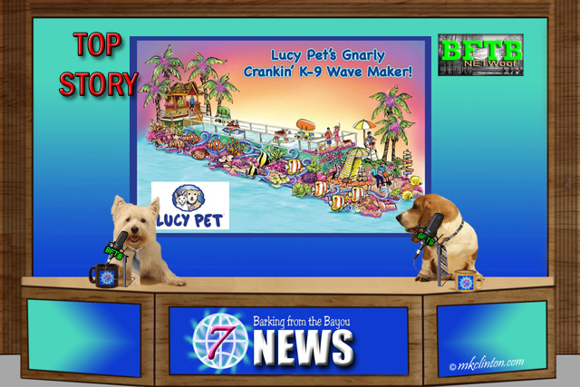 BFTB NETWoof News Top Story Lucy's Pet float contest
