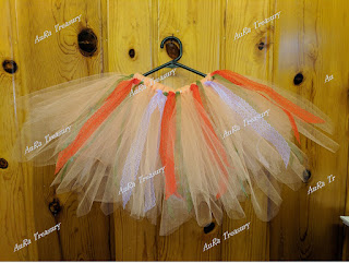 How to make a No-Sew Tutu Skirt