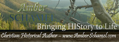 Amber Schamel Christian Historical Author