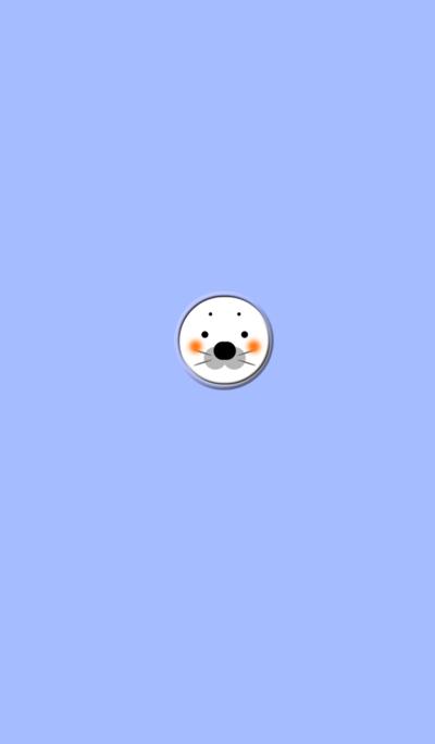 Seal Blue button