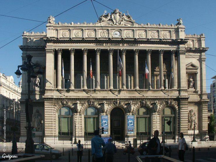 La Bourse Et La Chambre De Commerce De Marseille