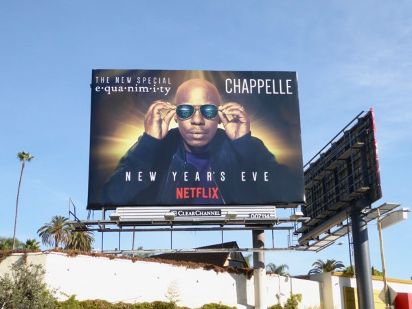 Dave Chappelle Equanimity billboard