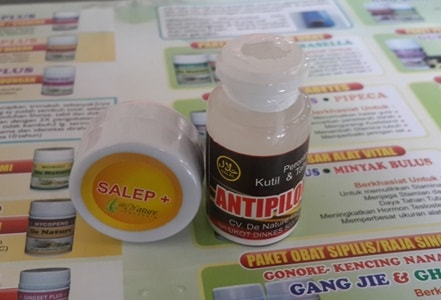 Obat Kutil herbal de Nature Salep+ dan Antipiloma