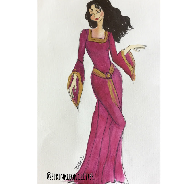 Sprinkle on glitter blog// 31 days of Disney// mother gothel