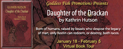 DAUGHTER OF THE DRACKAN by Kathrin Hutson