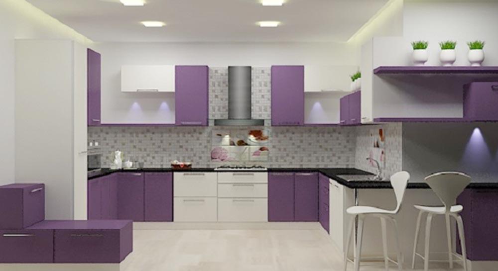+50 Modern Purple Kitchen cabinets designs catalog 2019