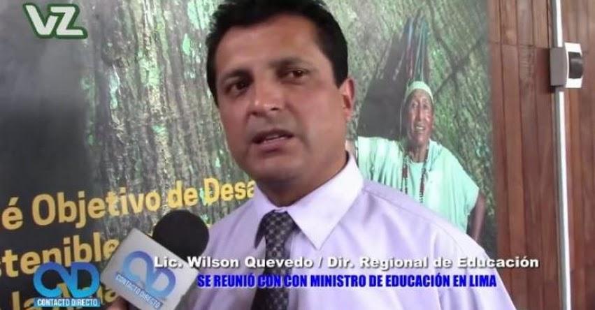 Director DRE San Martín se reunió con Ministro de Educación y Vice Ministros [VIDEO] www.dresanmartin.gob.pe