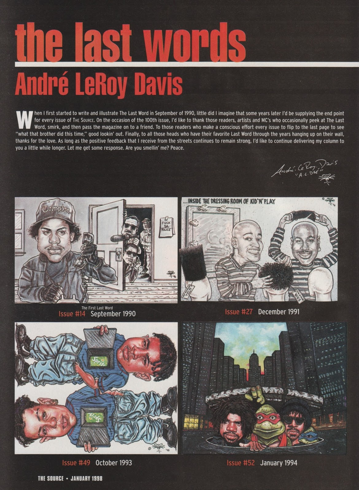 Andre LeRoy Davis 'The Last Words' (The Source, 1998)