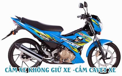 Dịch vụ cầm xe không giữ xe Hồ Chí Minh giá cao, lãi suất cực thấp