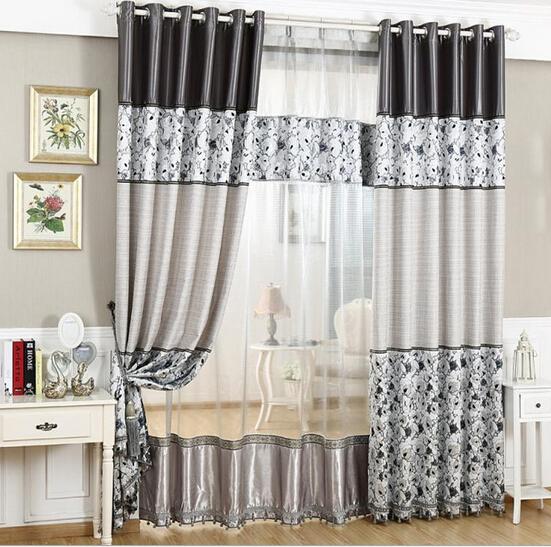 beberapa motif dan model gorden rumah minimalis terbaru. Black Bedroom Furniture Sets. Home Design Ideas