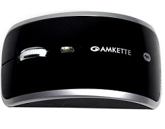Amkette Pearl Bluetooth Mouse, Black for Rs.349 Only with Free Shipping (3 Years Warranty) MRP Rs.1079