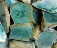 rough green jade