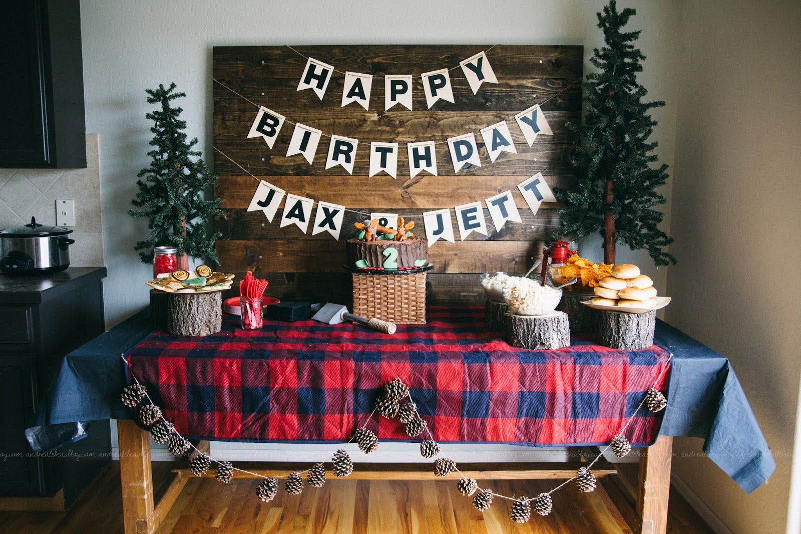 Rustic Baby Boy Nursery Buffalo Plaid