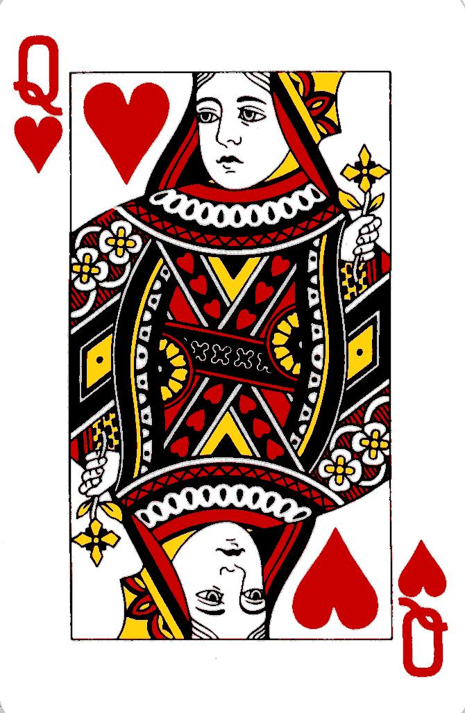 Terungkap Sosok Sebenarnya Keempat Queen Kartu Remi